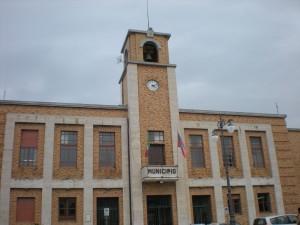 Il palazzo municipale di Vibo Valentia