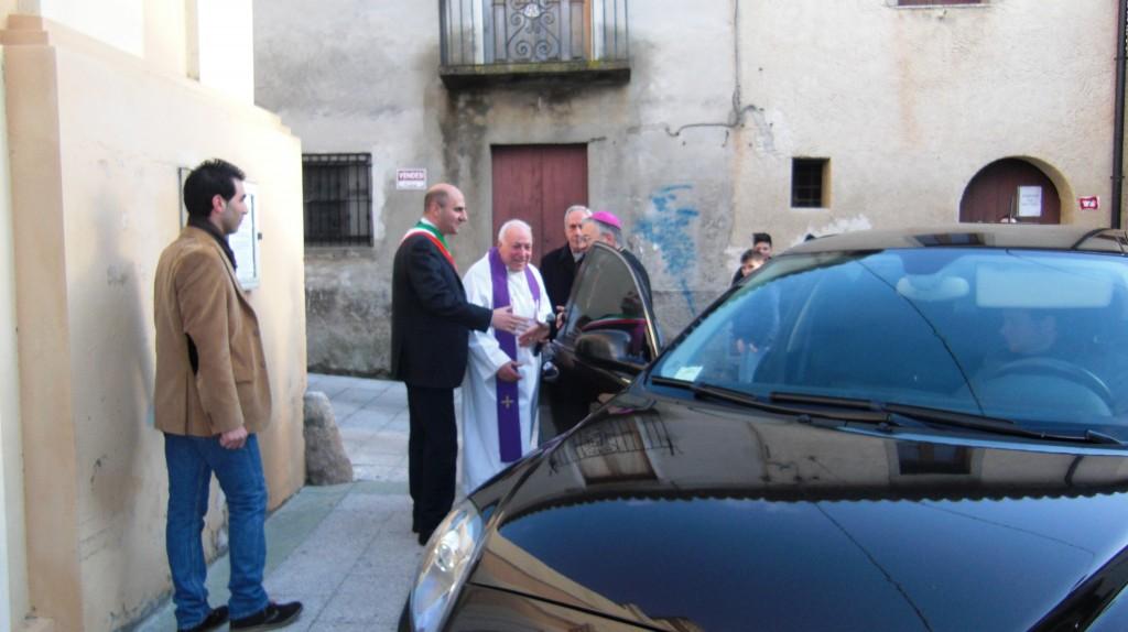 L'incontro col sindaco Giuliano
