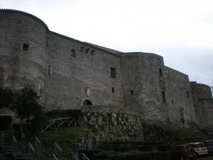Il castello normanno-svevo, uno dei simboli di Vibo Valentia