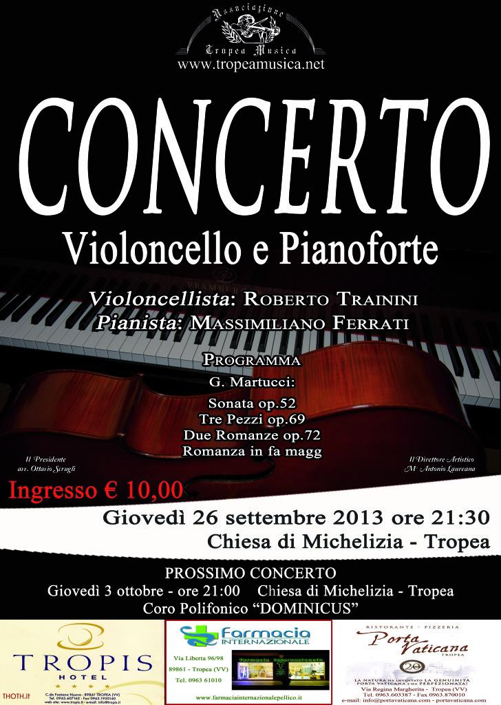 concerto 26 settembre