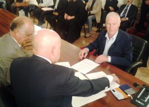 La firma del sindaco di Stefanaconi