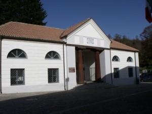 L'ingresso del polo siderurgico di Mongiana