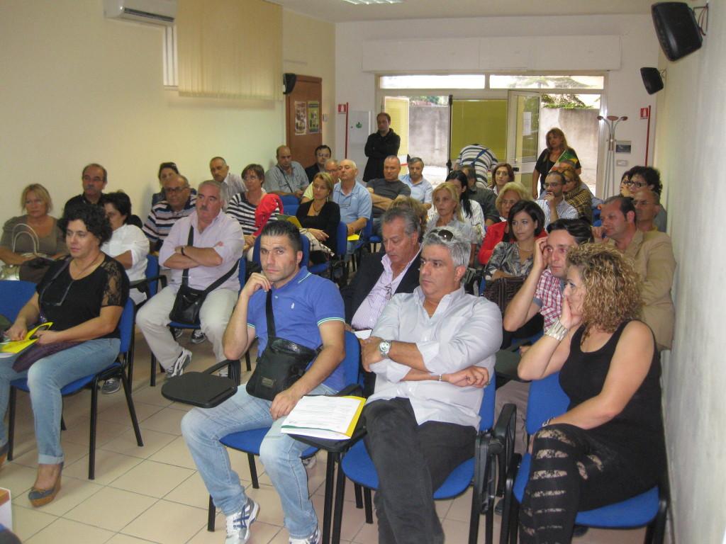 I rappresentanti delle associazioni vibonesi presenti all'incontro