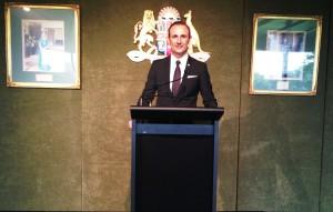 Grillo alla Camera dei deputati australiana