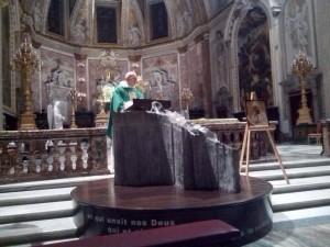 La messa a Roma