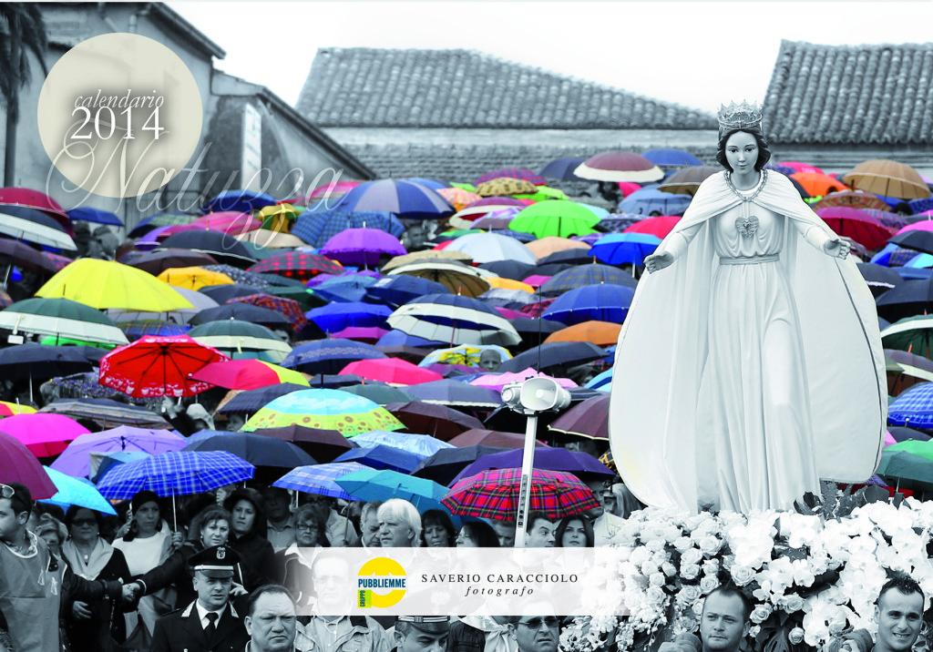 La copertina del calendario dedicato a Natuzza