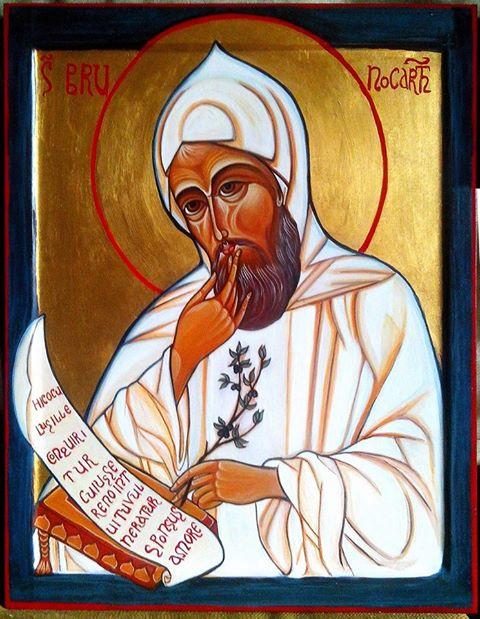 Icona di San Brunobenedetta da papa Francesco il 27 nov 2013