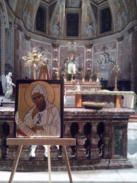 L'icona nella basilica romana