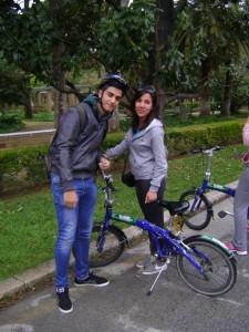 I due studenti che hanno partecipato all'iniziativa