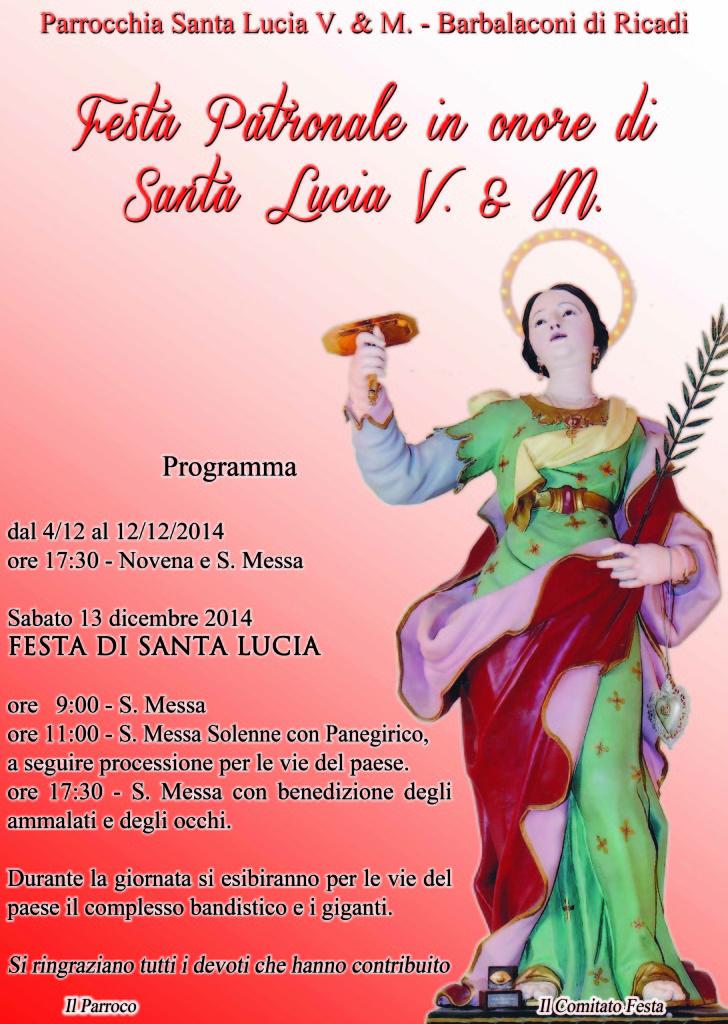 santa lucia barbalaconi 214