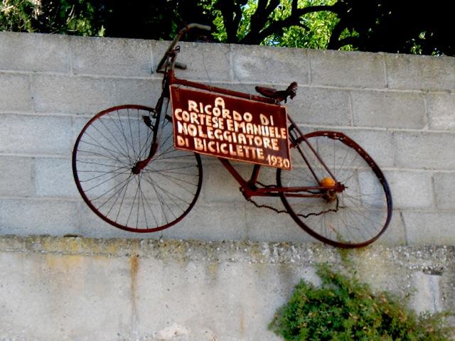 La bicicletta di Filandari