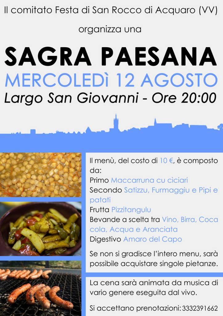 Sagra paesana - San Rocco