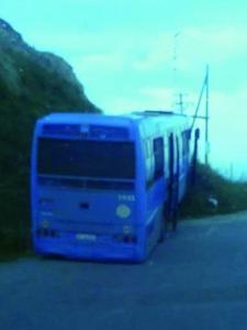 bus fuori strada