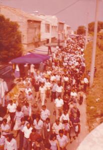 1980 processione fiera