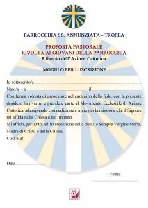azione cattolica iscrizione