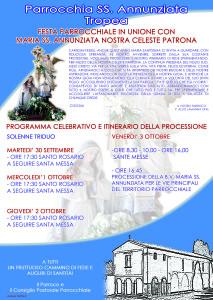 manifesto annunziata 2014