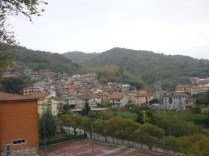 Il centro storico di Pizzoni