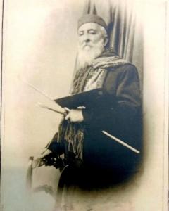Foto del Pittore Domenico Russo 1900