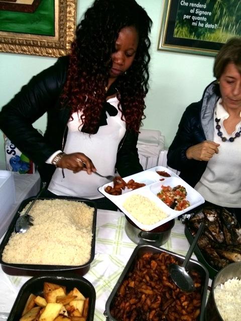 il menù africano